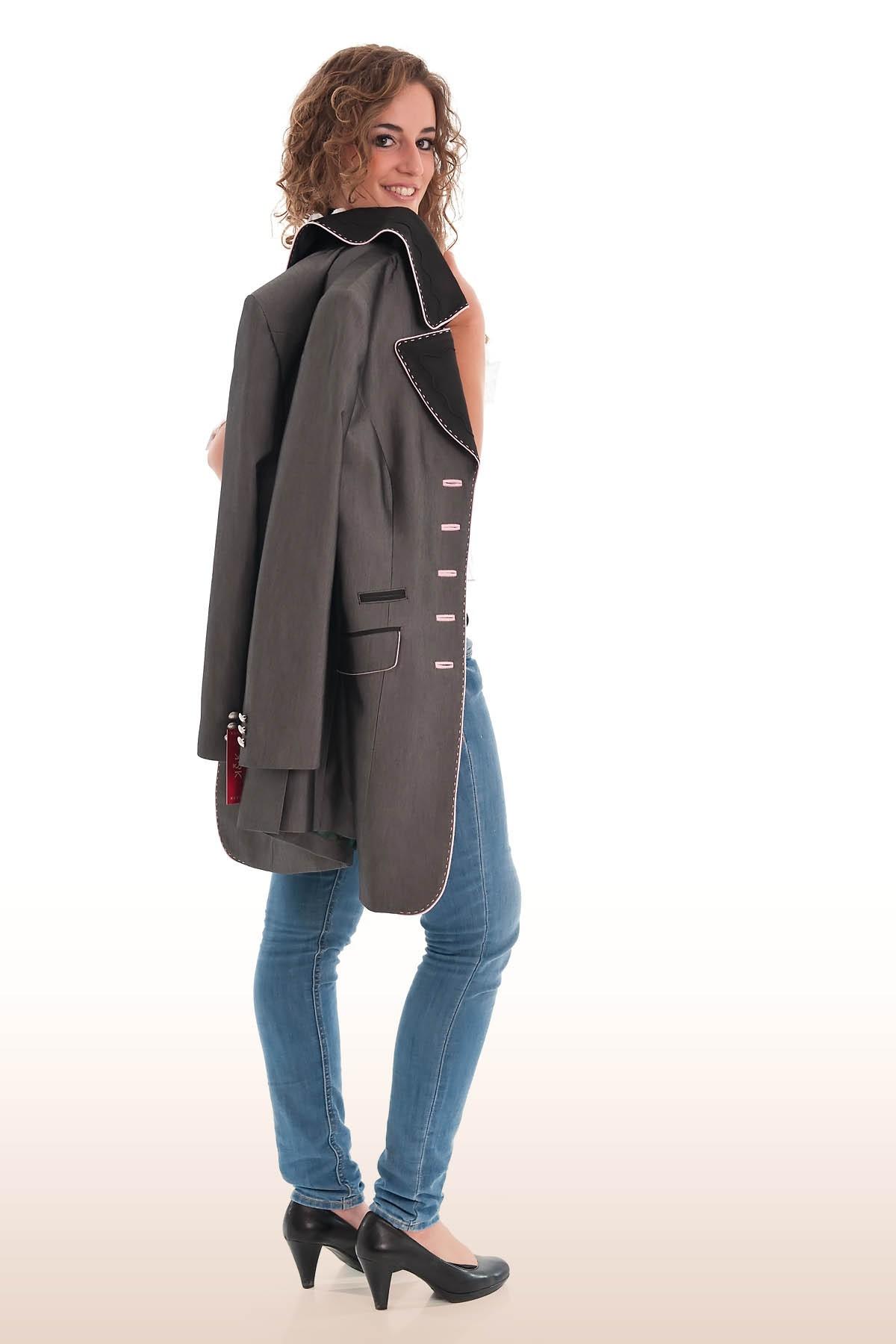 kaiserj ger exklusiver gehrock trachtenjanker grau ros 36 38 40 42 44 ebay. Black Bedroom Furniture Sets. Home Design Ideas