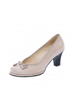 Trachten-High-Heels / Pumps pink Dindlschuhe | Andrea Conti