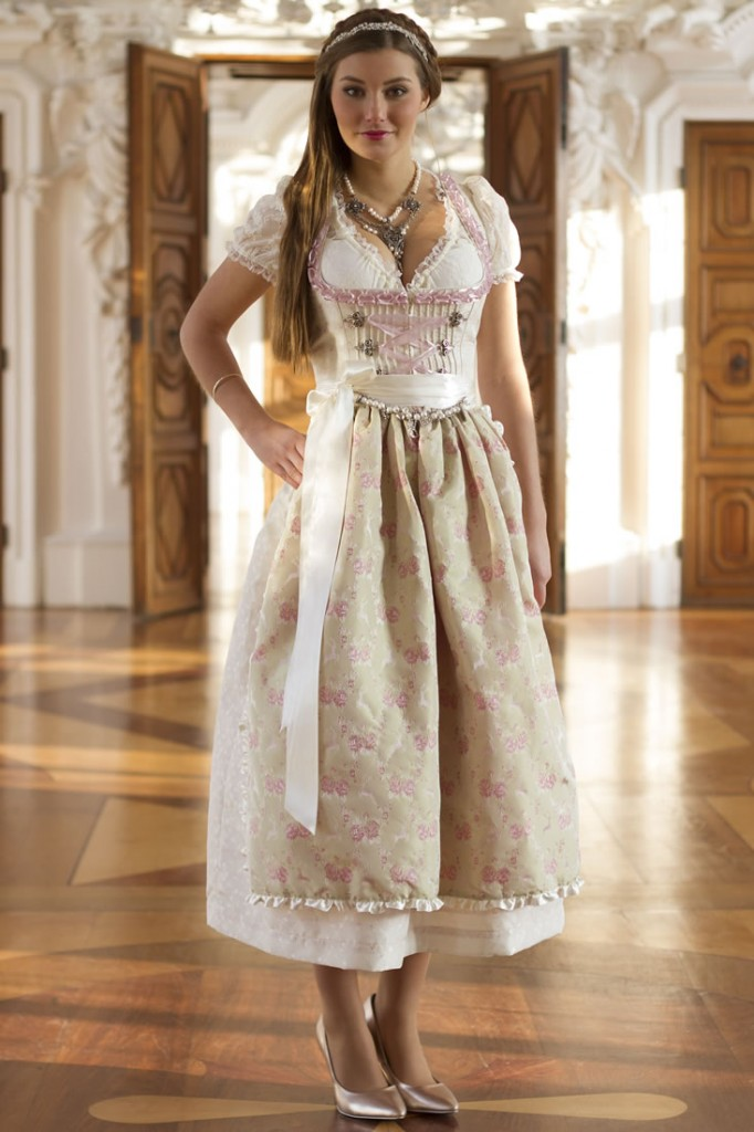 designer brautdirndl fiona designer dirndl ebay. Black Bedroom Furniture Sets. Home Design Ideas