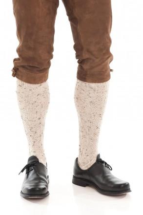 Trachten-Kniebundstrümpfe weiss Trachtenstrümpfe