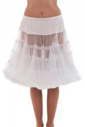 Petticoat - der Wow-Effekt zu jedem Mini Dirndl 50 cm
