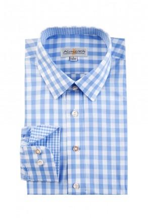 Almsach Trachtenhemd Slim Line ice