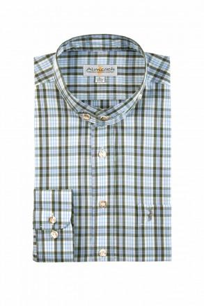 Almsach Trachtenhemd Slim Line Stehkragen
