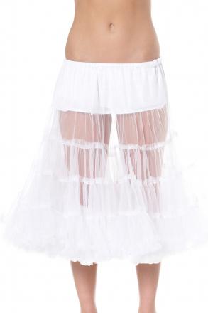 Absoluter Hit toller Petticoat weiß 80 cm