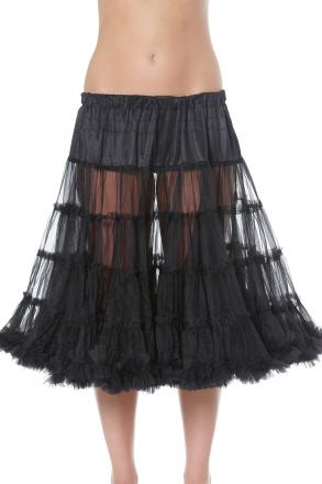 Absoluter Hit toller Petticoat schwarz 50 cm