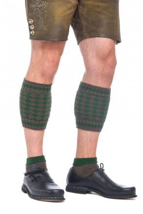 Trachten-Socken Loferl Braun/Tanne | Trachtensocken
