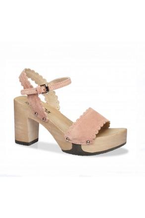 soft_clox_clogs_emilia_Kaleido_Kaschmir_rose_hazelnut_holz_schuh_sandalette_sandale_sommer_trachteria_online_shop