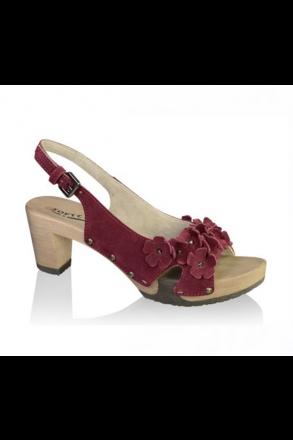 soft_clox_clogs_MADITA_Kaleido_Kaschmir_nelke _hazelnut_holz_schuh_sandalette_sandale_sommer_trachteria_online_shop