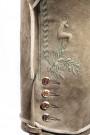 Hochwertige Trachtenlederhose aus Hirschleder