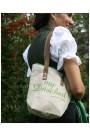 my_dascherl_sackle_zement_dirndl_trachten_tasche_leinen_grün_trachteria_online_shop_trachten_mode mit model